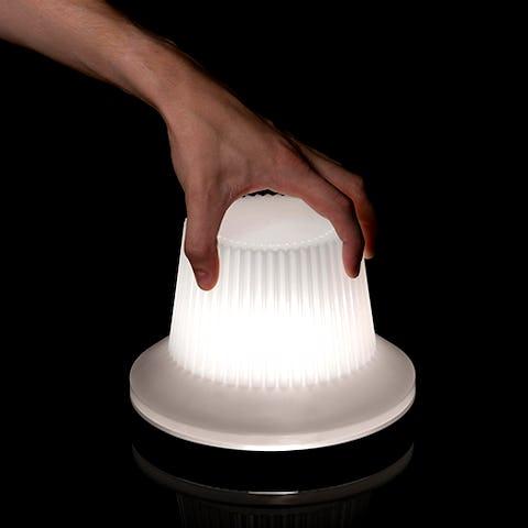 Knob-lamp